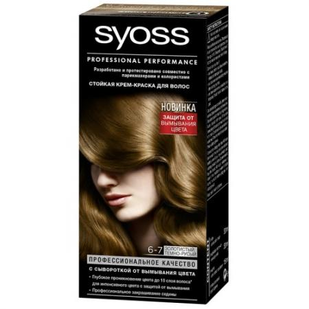 Фото Syoss Color Краска для волос 6-7 Золотистый темно-русый