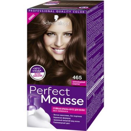 PERFECT MOUSSE Краска для волос 465 Шоколадный каштан