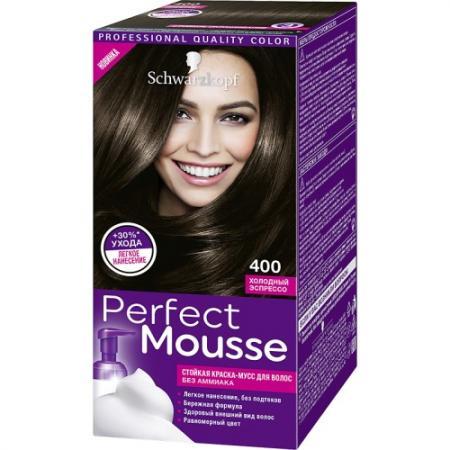 PERFECT MOUSSE Краска для волос 400 Холодный эспрессо