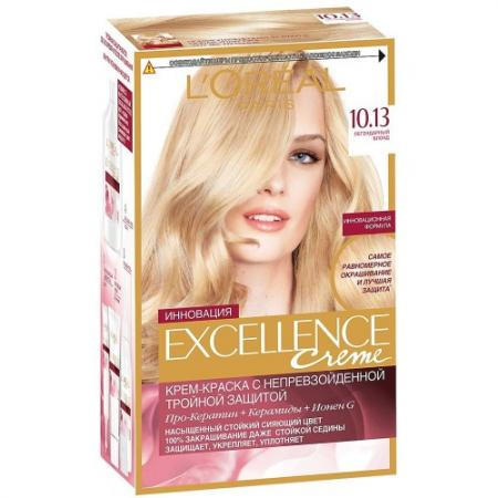 LOREAL EXCELLENCE Краска для волос тон 10.13 Легендарный блонд