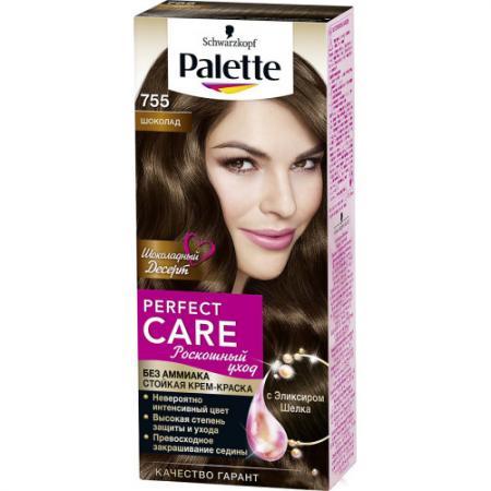 PALETTE PERFECT CARE крем-краска 755 Шоколад 110 мл palette