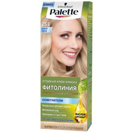 PALETTE ФИТОЛИНИЯ 253 Белый песок 110 мл palette фитолиния 500 темно русый110 мл