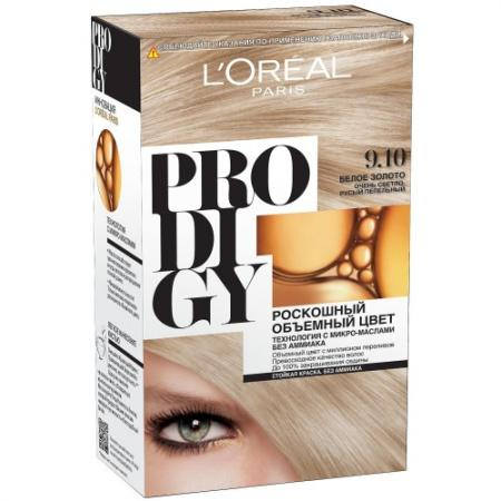 Loreal prodigy краска для волос тон 9.10 белое