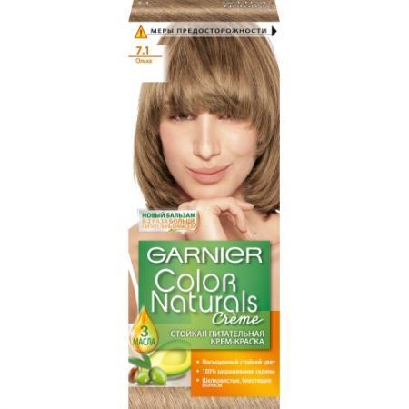 GARNIER Краска для волос COLOR NATURALS 7.1 Ольха garnier