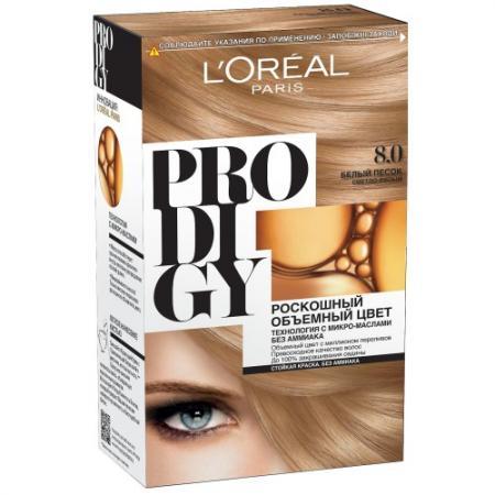 Loreal prodigy краска для волос тон 8.0 белый