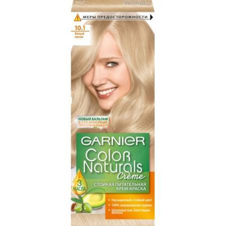 GARNIER Краска для волос COLOR NATURALS 10.1 Белый Песок краска для волос garnier garnier ga002lwivr96