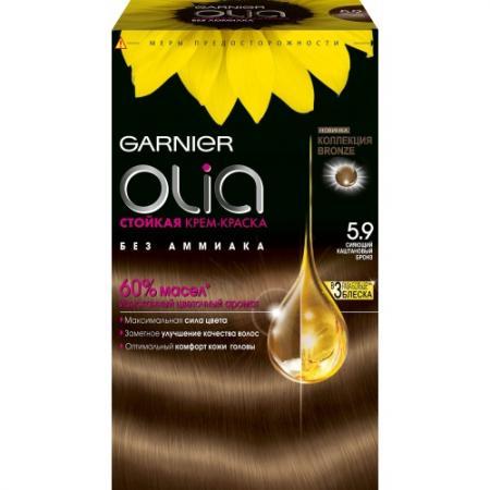 GARNIER Краска для волос Olia 5.9 Бронз