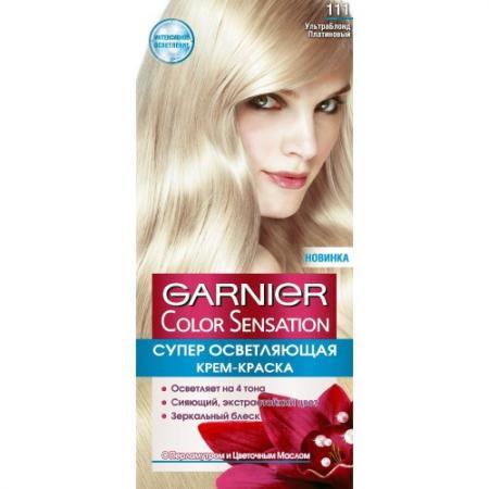 GARNIER Краска для волос COLOR SENSATION 111 Ультра Платина garnier