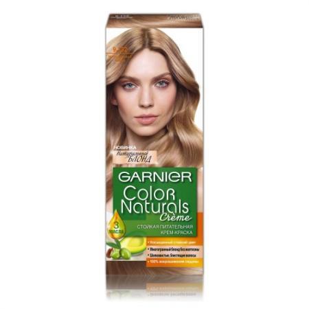 GARNIER Краска для волос Color Naturals 9.132 Натуральный блонд garnier краска для волос color naturals 30 оттенков 110 мл 112 жемчужный блонд