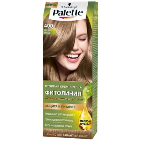 Palette ФИТОЛИНИЯ 400 Средне-русый 110 мл palette фитолиния 500 темно русый110 мл