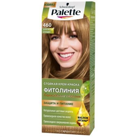 Palette ФИТОЛИНИЯ 460 Золотистый блондин 110 мл palette фитолиния 500 темно русый110 мл