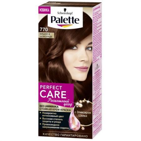 PALETTE PERFECT CARE крем-краска 770 Вишня в шоколаде 110 мл