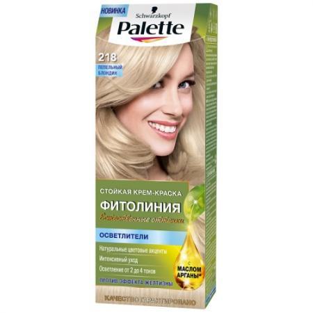 Palette ФИТОЛИНИЯ 218 Пепельный блондин 110 мл palette фитолиния 500 темно русый110 мл
