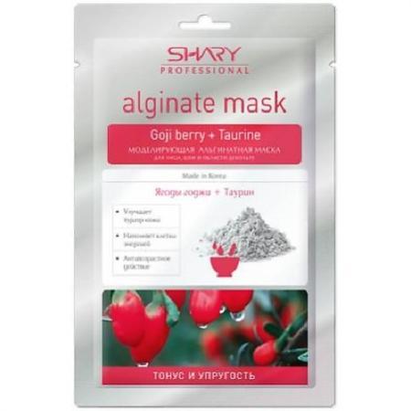 SHARY Маска моделирующая альгинатная для лица, шеи, декольте Тонус и Упругость Ягоды годжи и Таурин эвалар ягоды годжи 100г