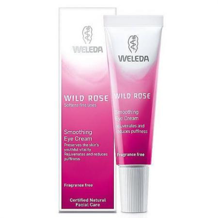 WELEDA Разглаживающий розовый крем-уход для области вокруг глаз 10 мл weleda weleda розовый разглаживающий дневной крем 30 мл