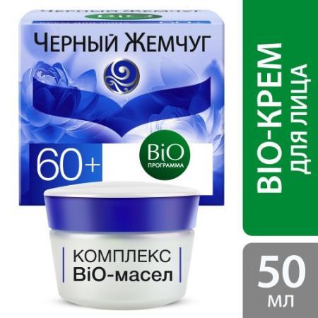 ЧЕРНЫЙ ЖЕМЧУГ Крем для лица BIO-программа 60 50мл крем д лица черный жемчуг bio антивозр от 56лет 50мл