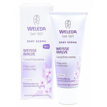 WELEDA Крем для гиперчувствительной кожи лица с алтеем 50 мл weleda крем для гиперчувствительной кожи лица с алтеем 50 мл