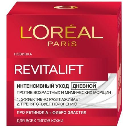 LOREAL DERMO-EXPERTISE REVITALIFT Крем для лица дневной 50мл l oreal dermo expertise revitalift лазер 3 крем дневной для лица регенерирующий 50мл