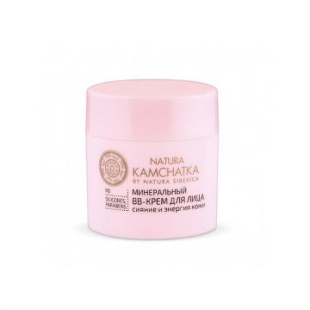 NATURA KAMCHATKA ВВ-Крем для лица минеральный для всех типов кожи 50мл дезодоранты arcana natura минеральный дезодорант спрей