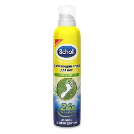SCHOLL Спрей для ног Deo-Activ Fresh Освежающий активного действия 150 мл спрей scholl fresh step 150 мл