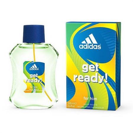Adidas Get ready! туалетная вода для мужчин 100мл туалетная вода 30 мл adidas туалетная вода 30 мл