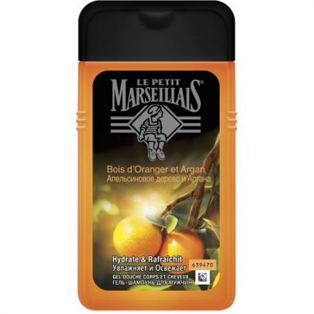 LPM Гель-шампунь для мужчин Апельсиновое дерево и Аргана 250 мл runail воск для депиляции cardi ароматная аргана 100 мл