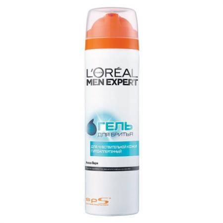LOREAL MEN EXPERT Гель для бритья Гидра сенситив для чувствительной кожи 200мл arko softtouch гель для бритья женский для чувствительной кожи 200мл