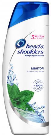 HEAD & SHOULDERS Шампунь против перхоти Ментол 400мл шампунь nivea power д мужчин против перхоти 400мл