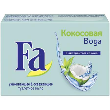 FA Кусковое мыло Кокосовая вода 90 г косметика для мамы fa жидкое мыло кокосовая вода 250 мл