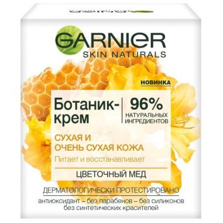 GARNIER БОТАНИК Мёд крем для сухой и очень сухой кожи 50мл крем для рук для очень сухой кожи интенсивный уход garnier 100 мл