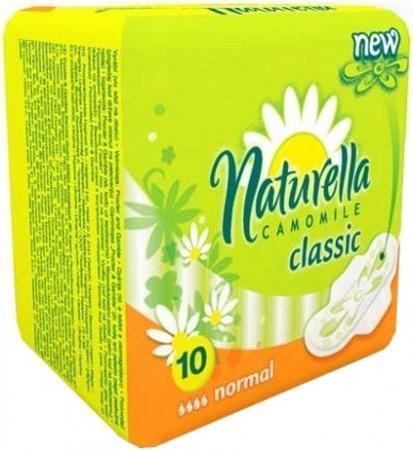 где купить NATURELLA Classic Женские гигиенические прокладки с крылышками Camomile Normal Single 10шт по лучшей цене