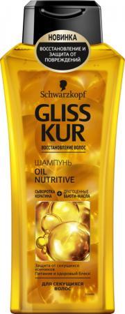 GLISS KUR Шампунь Oil Nutritive 400мл