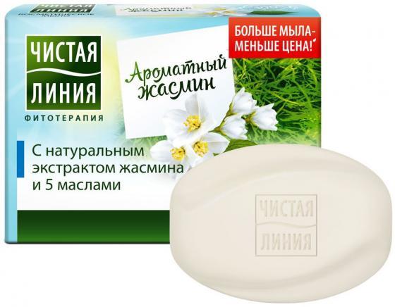 ЧИСТАЯ ЛИНИЯ Косметическое мыло Жасмин 90гр