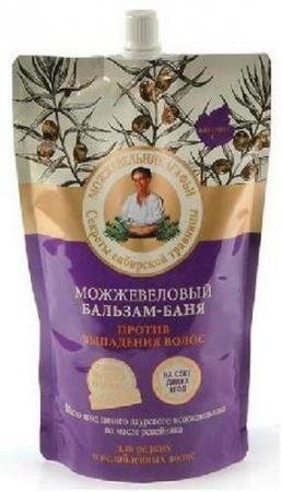 РБА Бальзам-баня Против выпадения волос можжевеловый Дой-пак 500мл елена степанова баня сауна рецепты здоровья