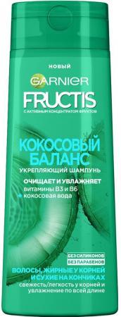 Garnier fructis шампунь кокосовый баланс 400мл