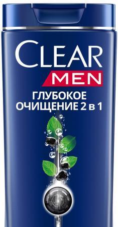 CVA Шампунь и бальзам-ополаскиватель против перхоти для мужчин 2в1 глубокое очищение 400мл шампунь clear v a phytotechnology п перхоти д мужчин 400мл