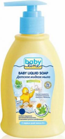 BABYLINE Детское жидкое мыло с дозатором 500мл babyline детское жидкое мыло 500 мл с дозатором babyline