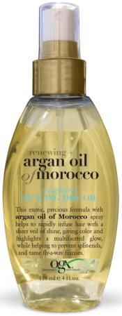 OGX Масло-спрей Легкое сухое арганово Марокко для восстановления волос, 118 мл