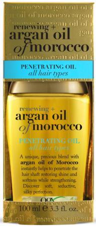OGX Масло Аргановое Марокко для восстановления волос, 100 мл ogx argan oil аргановое масло для восстановления волос argan oil аргановое масло для восстановления волос