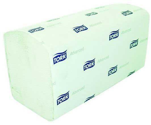 Полотенца бумажные TОRК UNIVERSAL, сложение ZZ, H3, 1-сл., белые, 23х23см, 250 л
