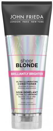 Sheer Blonde Brilliantly Brighter Кондиционер для придания блеска светлым волосам lace up sheer tank top
