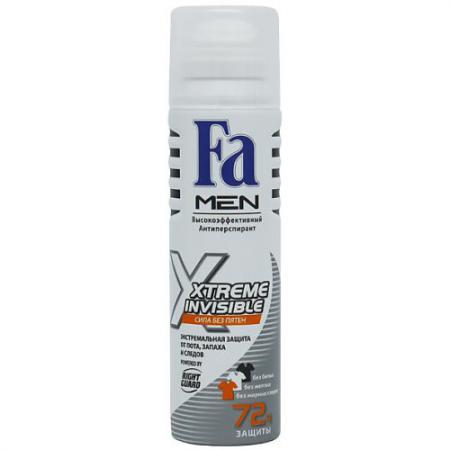FA MEN Дезодорант-антиперспирант аэрозоль Xtreme Invisible Power БОЛЕЙ ЗА НАШИХ! 150мл fa антиперспирант роликовый men xtreme protect 5