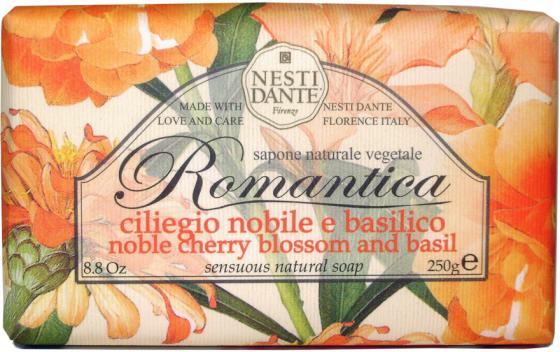 Мыло твердое Nesti Dante Noble Cherry Blossom & Basil / Вишневый цвет и базилик 250 гр 1309106 федор достоевский достоевский без глянца isbn 978 5 367 00553 0