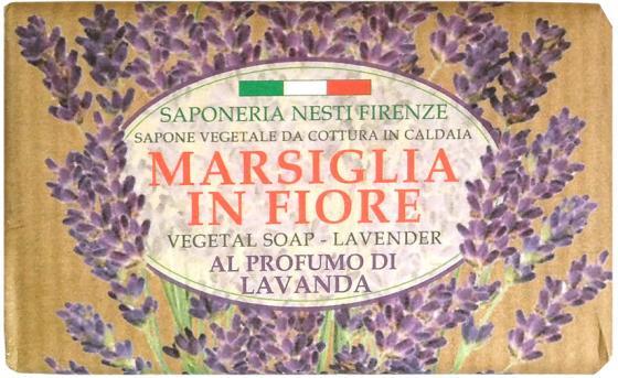 Мыло твердое Nesti Dante Lavender & Juniper / Лаванда 125 гр лаванда фенхель lavender fennel hem 6 шт