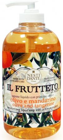 Мыло жидкое Nesti Dante Olive oil & tangerine / Оливковое масло и мандарин 500 мл 5034112 мыло жидкое весна ecosense черника и масло арганы 500 мл