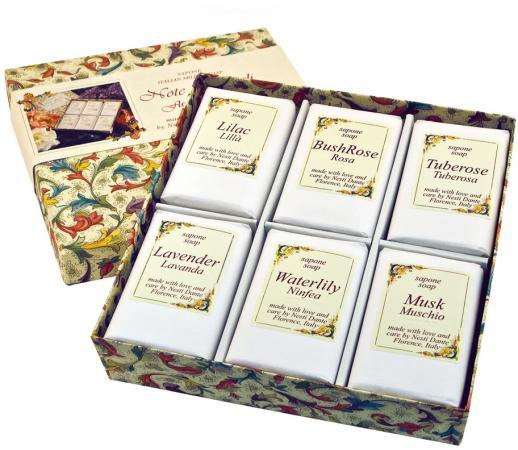 Мыло твердое nesti dante note floreali / цветочные