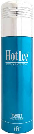 Дезодорант мужской Hot Ice Twist 200 мл 215994 mini ice pack hot water bag
