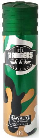 Дезодорант мужской Rangers Hawkeye 200 мл 214085 kingston frontenacs at kitchener rangers