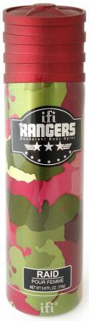 Дезодорант женский Rangers Raid 200 мл 214095 kingston frontenacs at kitchener rangers