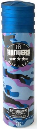 Дезодорант мужской Rangers Sky Soldiers 200 мл kingston frontenacs at kitchener rangers